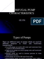 Ce 370 - Centrifugal Pump Characteristics