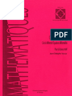 Yoccoz J.-c.-Cours de Topologie Calcul Differentiel, Equations Differentielles Pour La Licence MAF-Paris Onze Editions(1994)