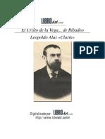 Alas Clarín, Leopoldo - El cristo de la Vega de Ribadeo