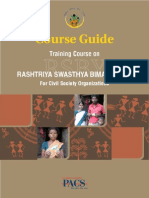 Course Guide Training Course on RSBY for Civil Society Organisations