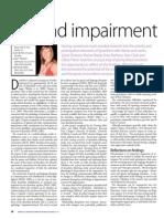 Beyond impairment