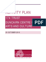 174 Trust Activity Plan 20 October 2010
