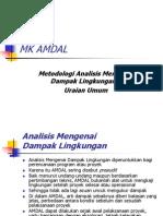 Uraian Umum AMDAL