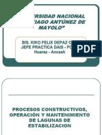 03 Procesos Constructivos de Lagunas de Estabilizacion Clase 02