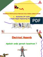 Presentasi k3 Listrik Rabu 230311