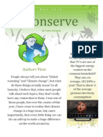 Conserve Newsletter
