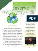 Conserve Newsletter