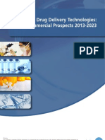 Drug Delivery Technologies Commercial Prospects 2013-2023