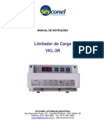 Manual Limitador de Carga VKL-3R