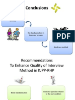 Conclusion of human resource management, KJPP-RHP