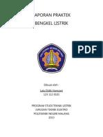 LAPORAN BENGKEL LISTRIK.docx