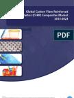 Global Carbon Fibre Reinforced Plastics (CFRP) Composites Market 2013-2023