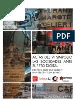 Acta Memoria Del VI Simposio Las Sociedades Ante El Reto Digital