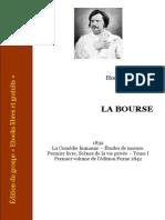 Balzac - La Bourse