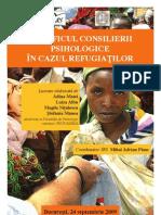 Specificul Consilierii Psihologice in Cazul Refugiatilor