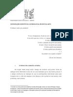 INTRODUÇÃO SEMIÓTICA À SIMBOLOGIA CRISTÃ DA ARTE