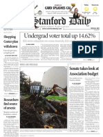 04/15/09 - The Stanford Daily [PDF]