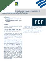 Procedura 7 - Procedura Fernox de Curare i Tratare a Instalaiilor de Nclzire Comerciale Aflate n Funciune