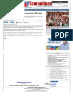 20-05-2013 Realiza Primer Recorrido de Campania Jose Elias Leal en Reynosa HTML
