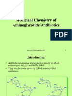 Medicinal Chemistry of Aminoglycoside Antibiotics