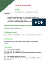 Quelle est la contribution de l'école à la cohésion sociale en France aujourd'hui