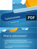 Carbohydrate Report