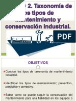 UNIDAD_2_Taxonomía_de_los_tipos_de_mantenimientos