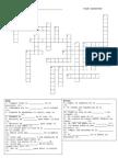 Final Exam Vocab Crossword Puzzle