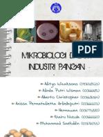 Mikrobiologi Dalam Industri Pangan