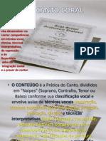 CANTO - 3º seminário