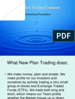 New Plan Trading Company - Investing in Today's Stock Market