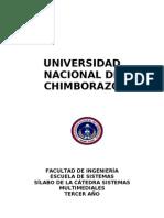 SilaboAsignatura-Sistemas Multimediales