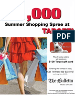 """The Bulletin's """"Great Prize Giveaway"""" Phone-In Sweepstakes"""
