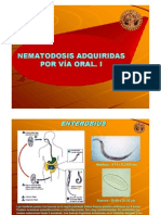 2. Nematodosis Adquiridas Por via Oral