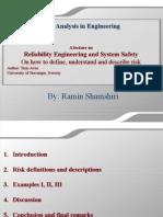 Ramin_Shamshiri_Risk_Analysis_Lecture.ppt