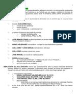 1. Viola Declaraciones Frias 2008