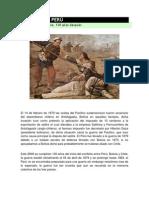 CRÓNICAS DE PERÚ -  la guerra del pacifico