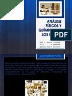 ANÁLISIS FÍSICOS Y QUÍMICOS DE LOS LÍPIDOS