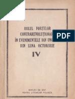 Rolul fortelor contrarevolutionare in evenimentele din Ungaria din luna octombrie 1956 vol.4.pdf