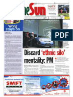 thesun 2009-04-16 page01 dicard ethnic silo mentality pm