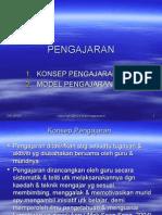 Konsep Pengajaran & Model Pengajaran