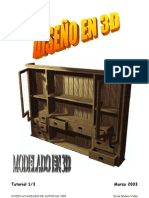 TUTORIAL 1de3 ALACENA - DISEÑO EN 3D