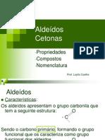 Aldeidos e Cetonas