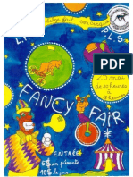 Affiche Fancy fair école belge