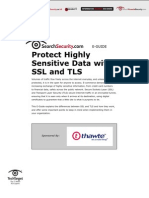 Protect Highly Sensitive Data with SSL and TLS