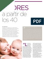 Madres a partir de los 40 | Revista GHQ #15