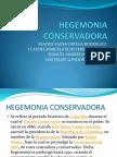 HEGEMONIA CONSERVADORA1