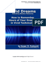 Vivid Dreams – Unlocking Shadow Memories