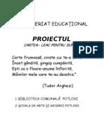PARTENERIAT EDUCATONAL
