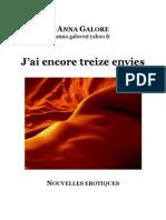 Anna Galore - J'Ai Encore Treize Envies